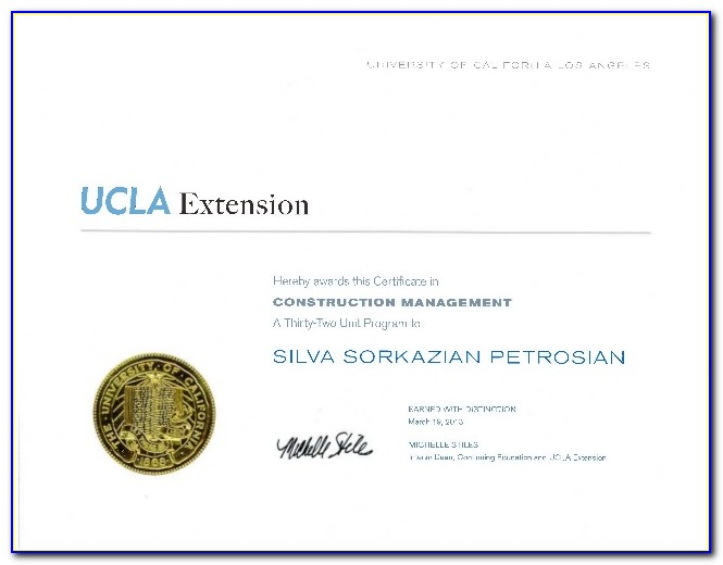 Ucla Extension Certificate Worth It
