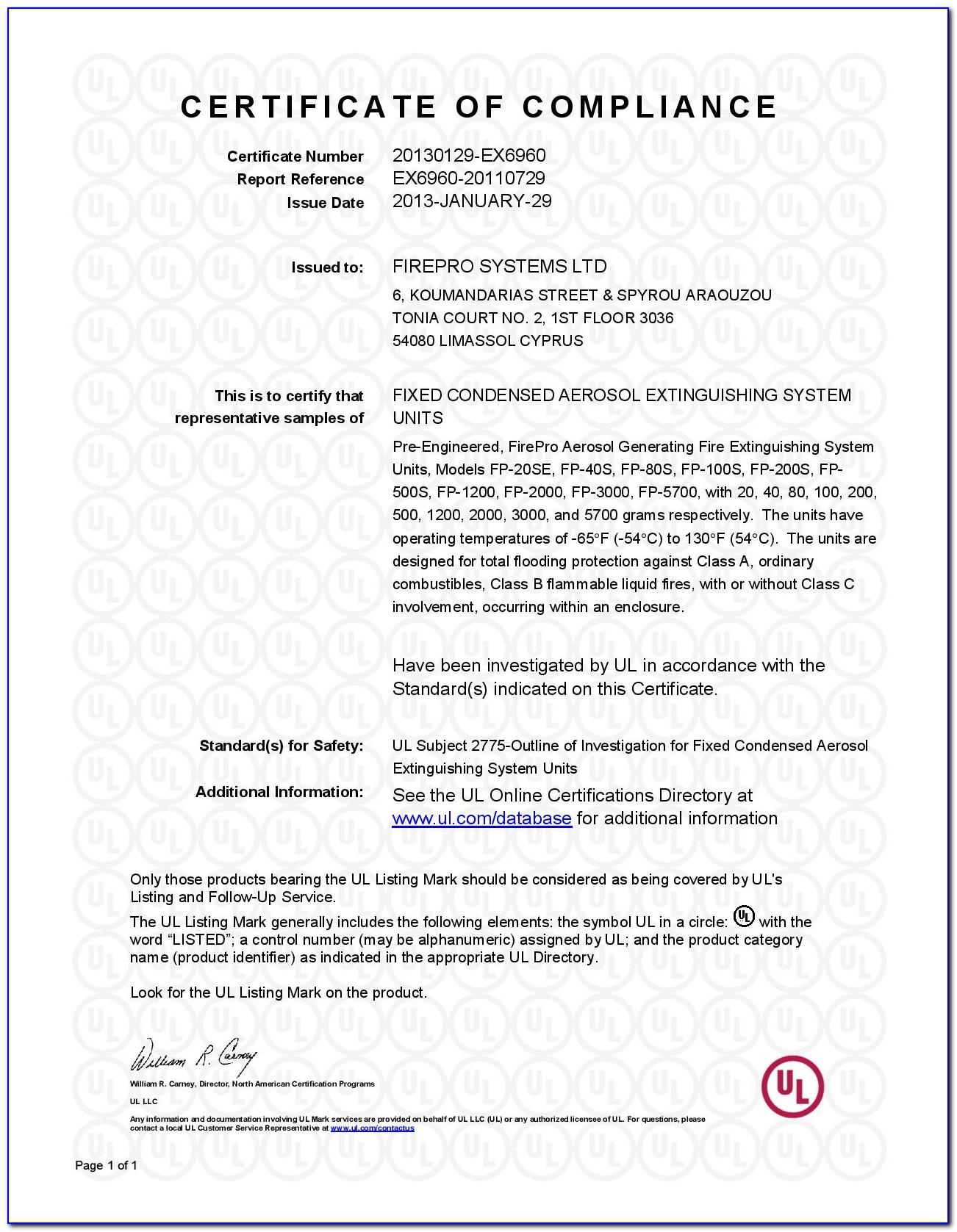 Ul Online Certifications Directory Website