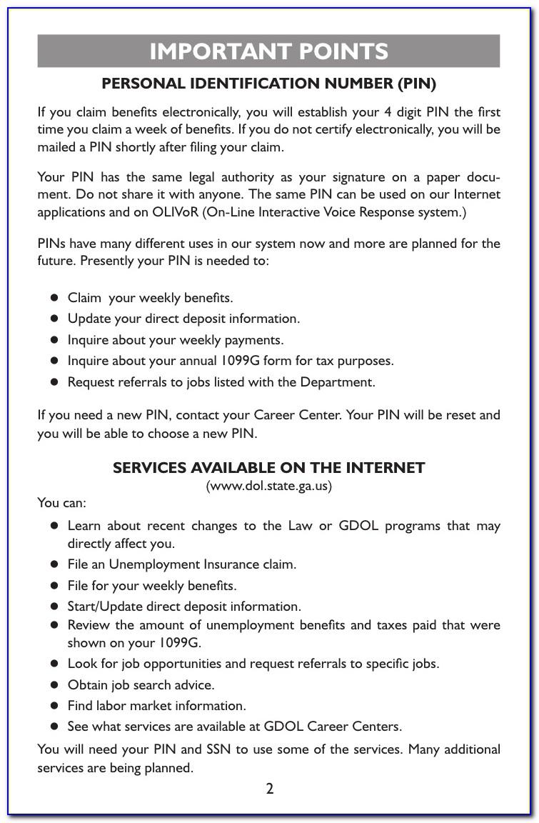 Unemployment Certification Number Tn