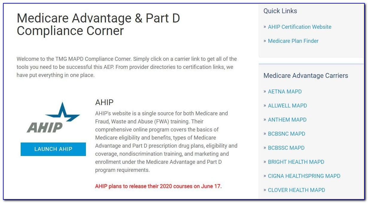 United Healthcare Ahip Certification 2019