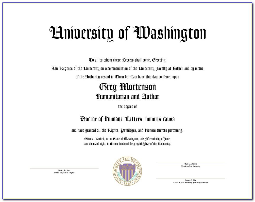 University Of Washington Certificate Programs Reviews