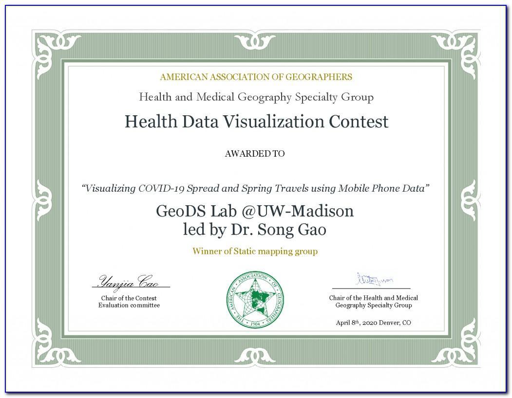 Uw Data Science Certificate Program