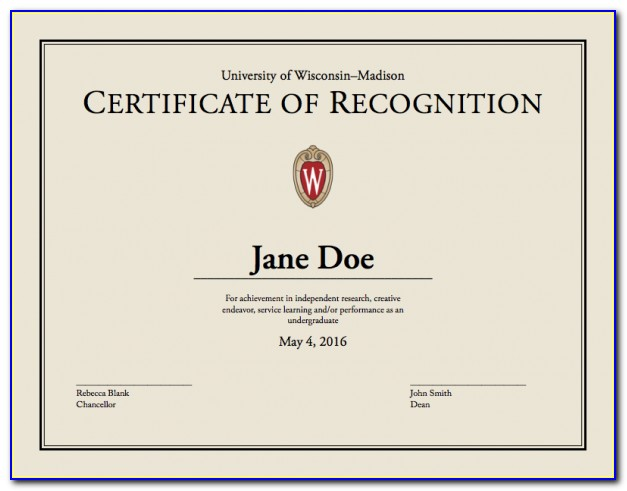 Uw Madison Business Certificate Requirements