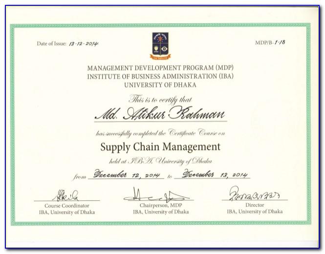 Uw Tacoma Certificate Programs