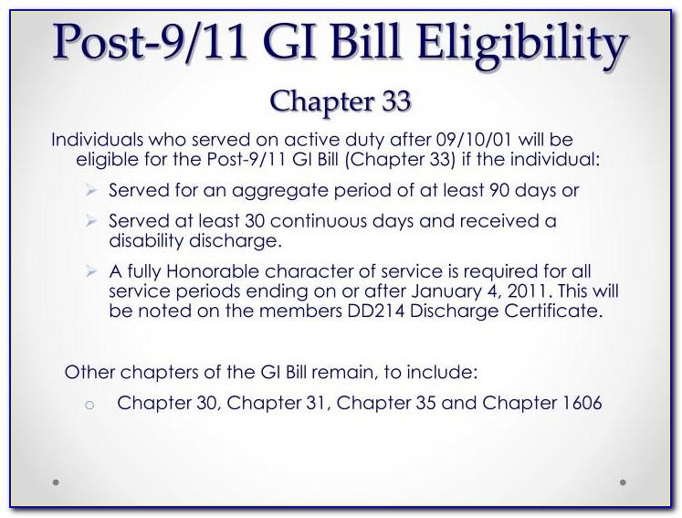 Va Certificate Of Eligibility Gi Bill Online