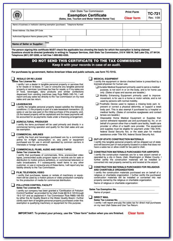 Verify Utah Resale Certificate
