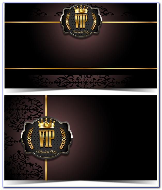 Vip Card Template Corel Draw
