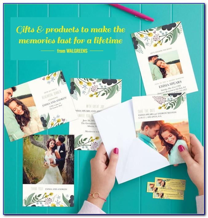 Walgreens Wedding Invitation Cards