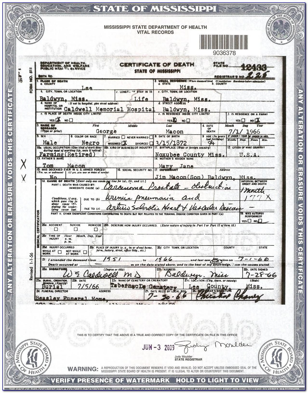 Washington Death Certificates Familysearch