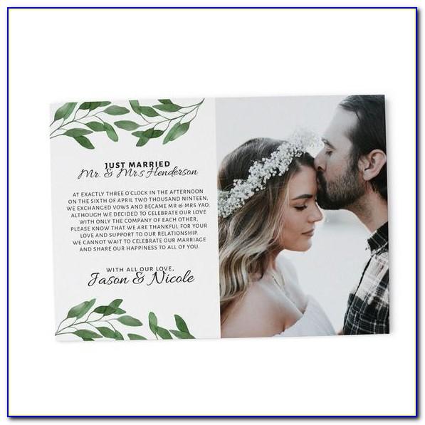 Wedding Announcement Cards Canada