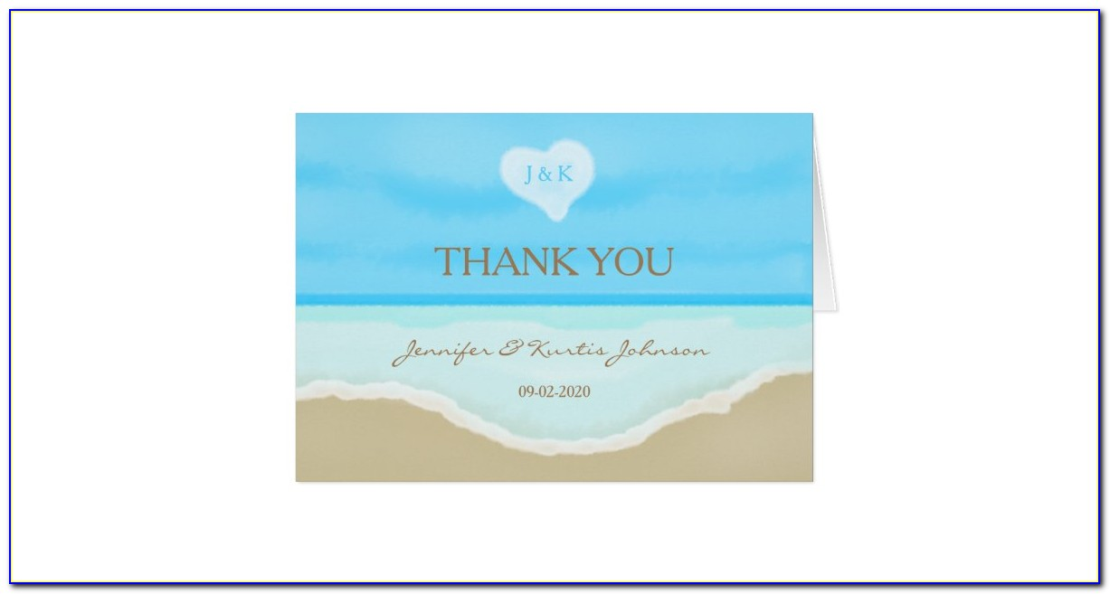 Wedding Blank Note Cards