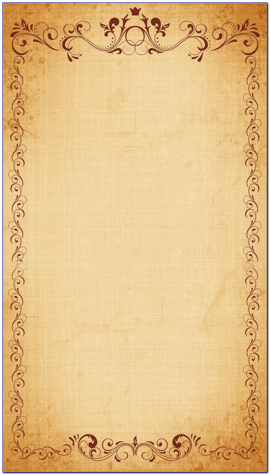 Wedding Card Border Design Download