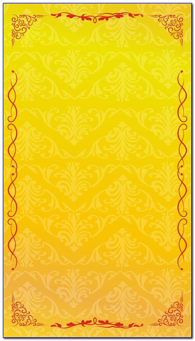 Wedding Card Border Design Images