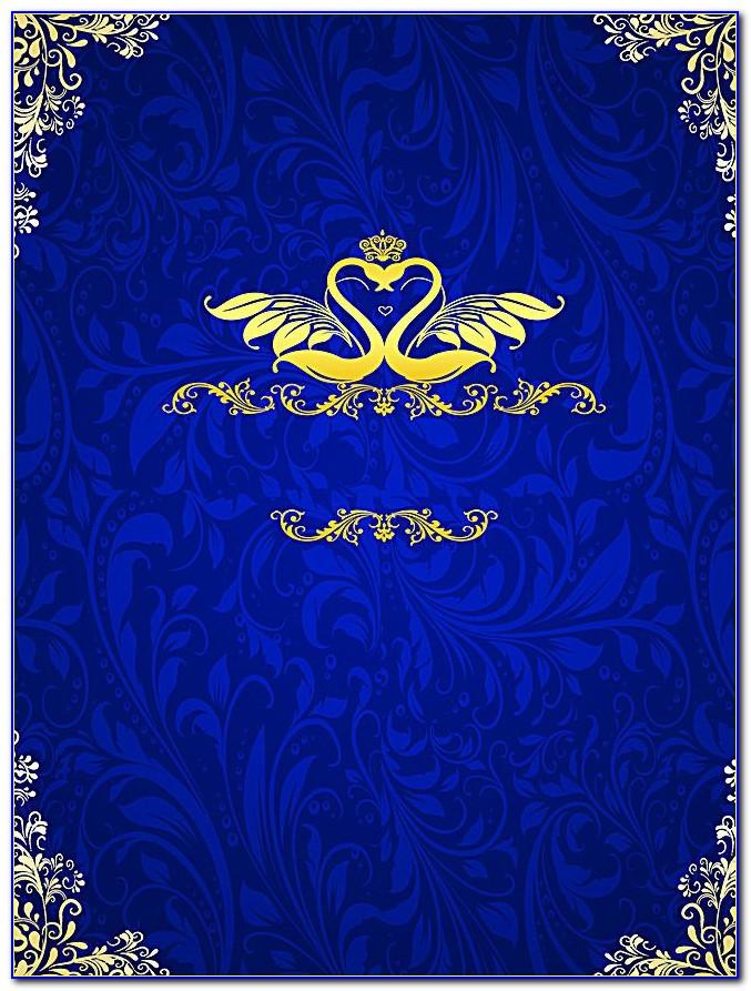 Wedding Card Border Design Indian