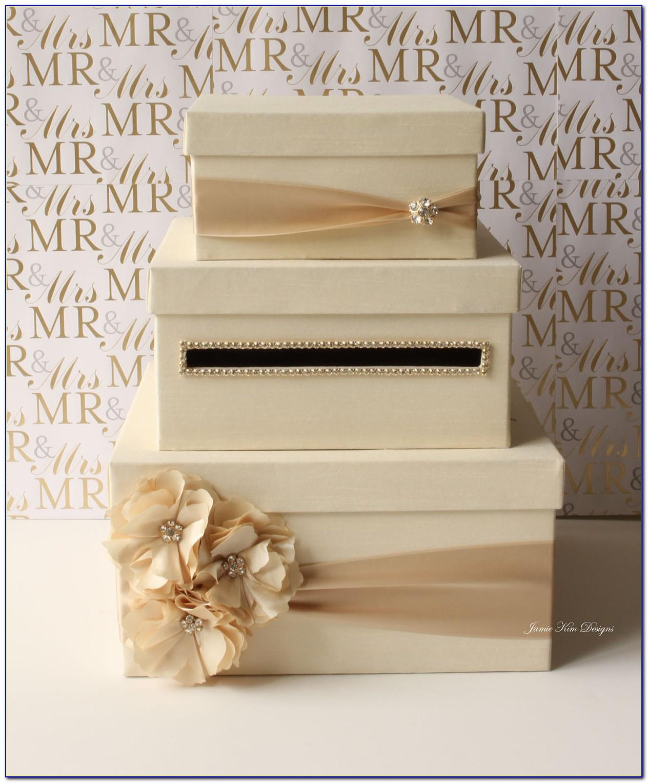 Wedding Card Box Holder Ideas