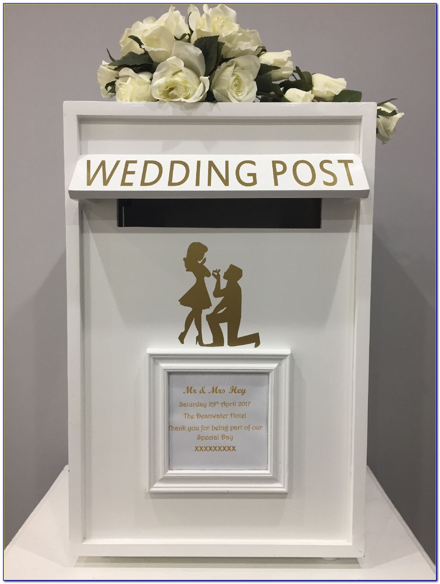 Wedding Card Box With Lock Diy