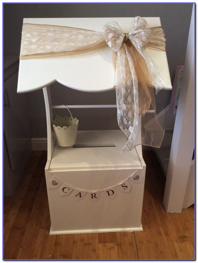 Wedding Card Box With Lock Ireland