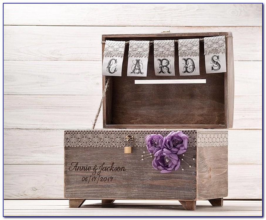 Wedding Card Box With Lock Uk