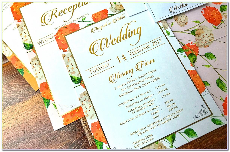 Wedding Card Sentiments