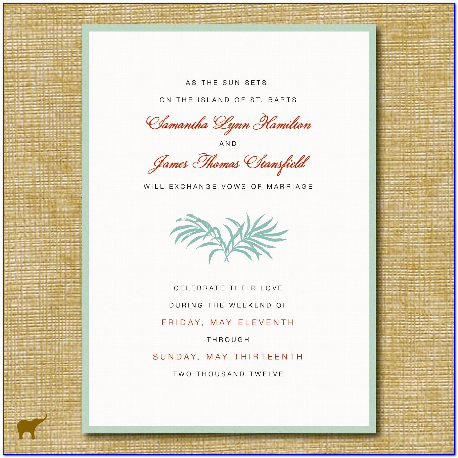 Wedding Card Wording In English In Indian Style