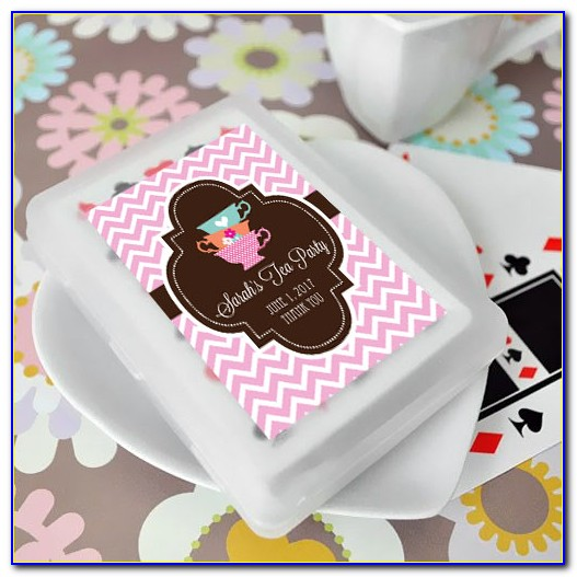 Wedding Deck Of Cards Party Favours