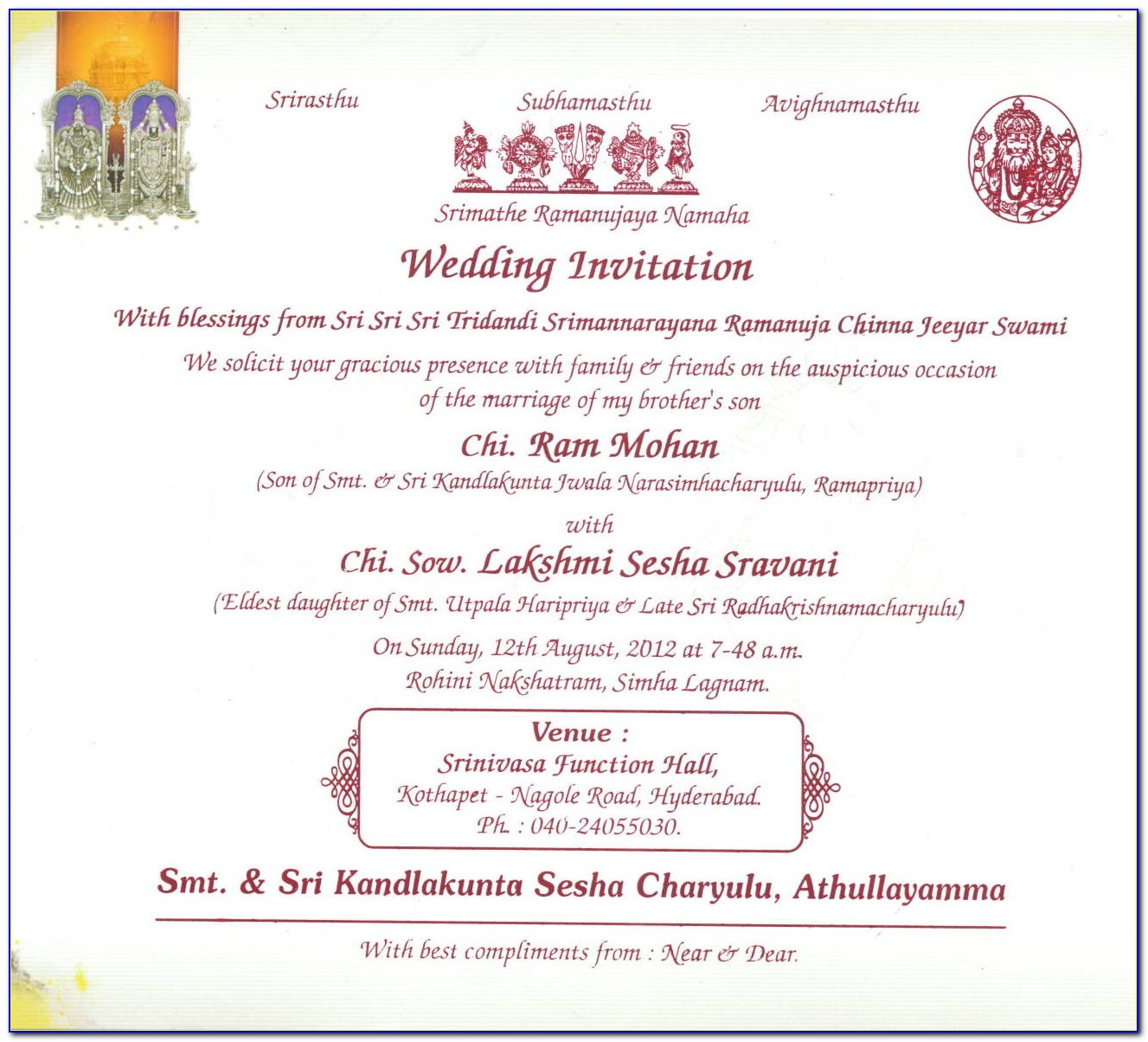 Wedding Invitation Cards Quotes In English