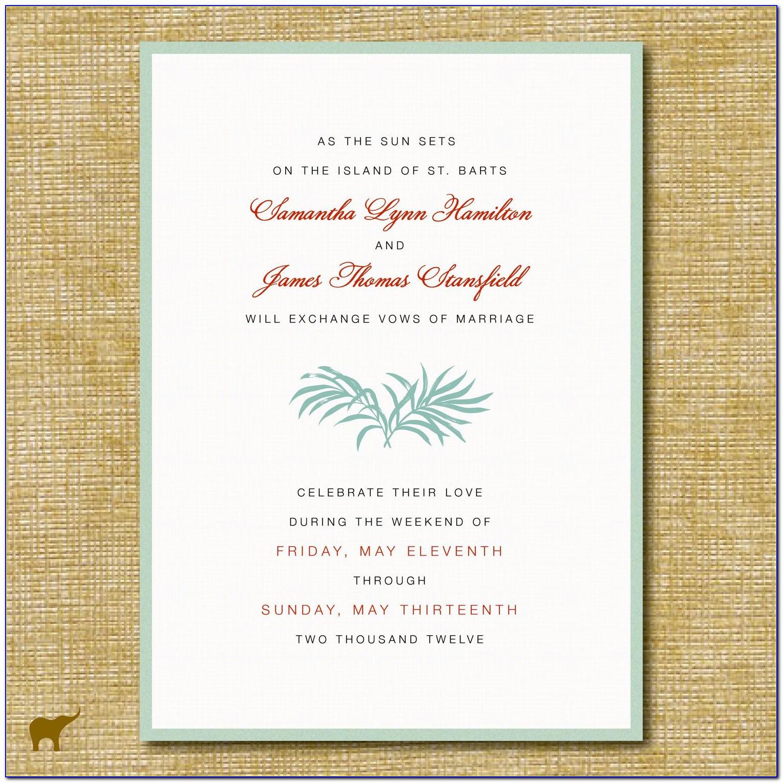 Wedding Invitation Cards Wordings In English