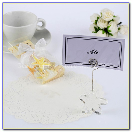 Wedding Place Card Holders Ideas