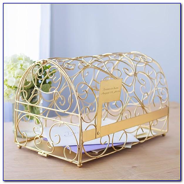 Wedding Reception Gift Card Box Holder