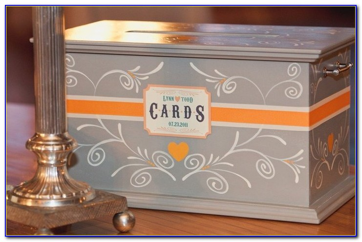 Wedding Reception Gift Card Boxes