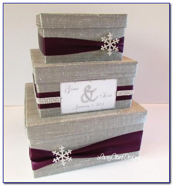 Wedding Reception Gift Card Post Box
