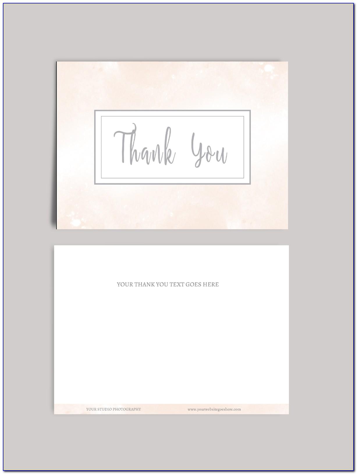 Wedding Thank You Cards With Photo Uk