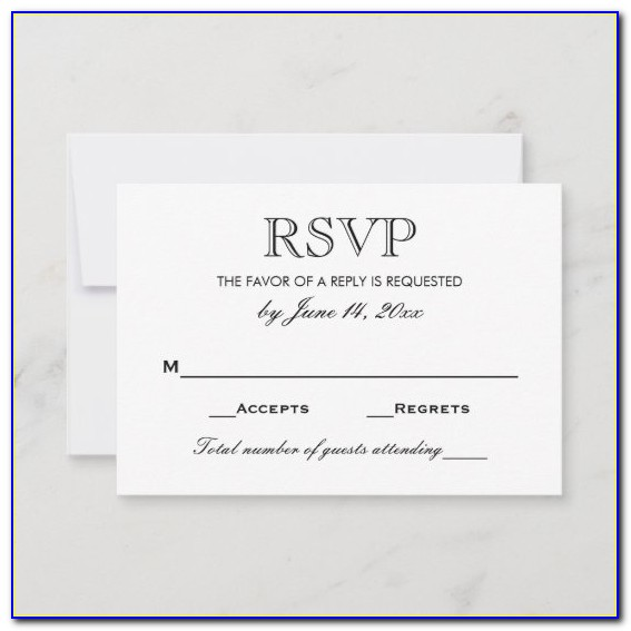 What To Write On A Wedding Information Card