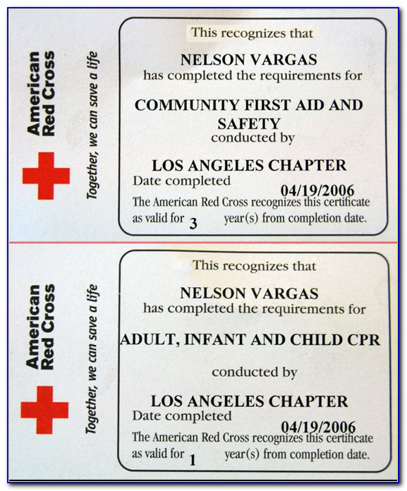 When Does American Heart Association Cpr Certification Expire