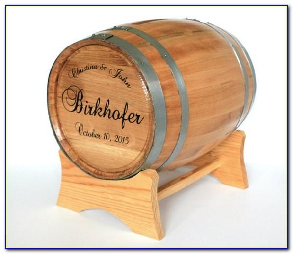 Wine Barrel Wedding Card Holder Australia