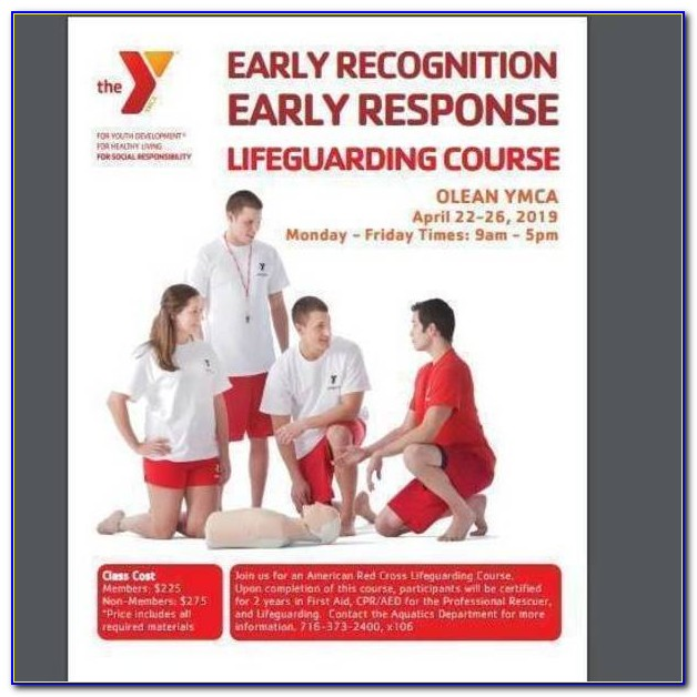 Ymca Lifeguard Certification Ny