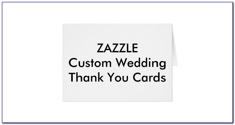 Zazzle Bridal Shower Thank You Cards