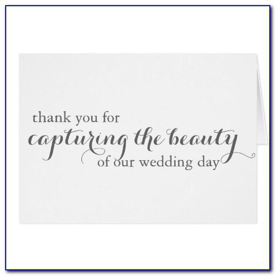 Zazzle Wedding Photo Thank You Cards