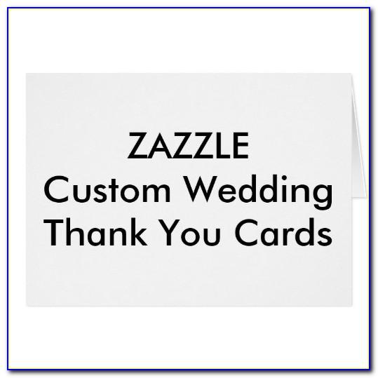 Zazzle Wedding Thank You Cards