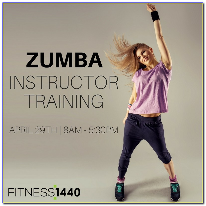 Zumba Instructor Certification Cost