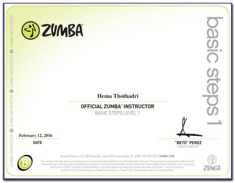 Zumba Instructor Certification Online