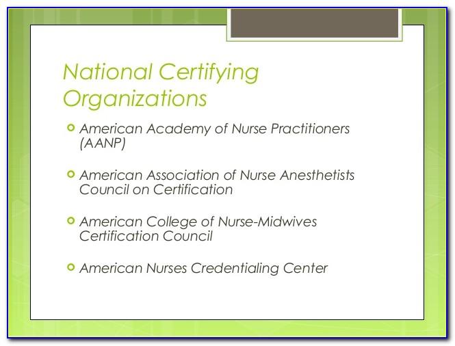 Aanp Board Certification Login