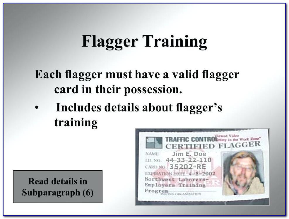 Alaska Flagger Certification Online