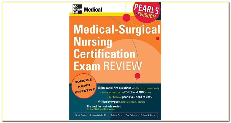 Ancc Med Surg Certification Book