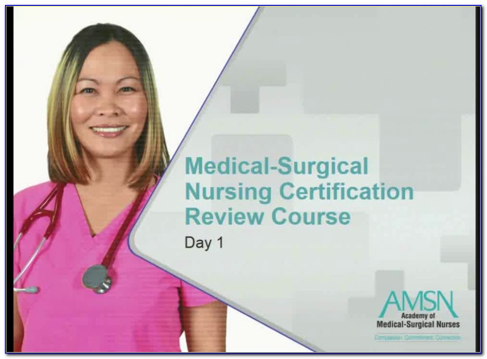 Ancc Medical Surgical Certification Verification