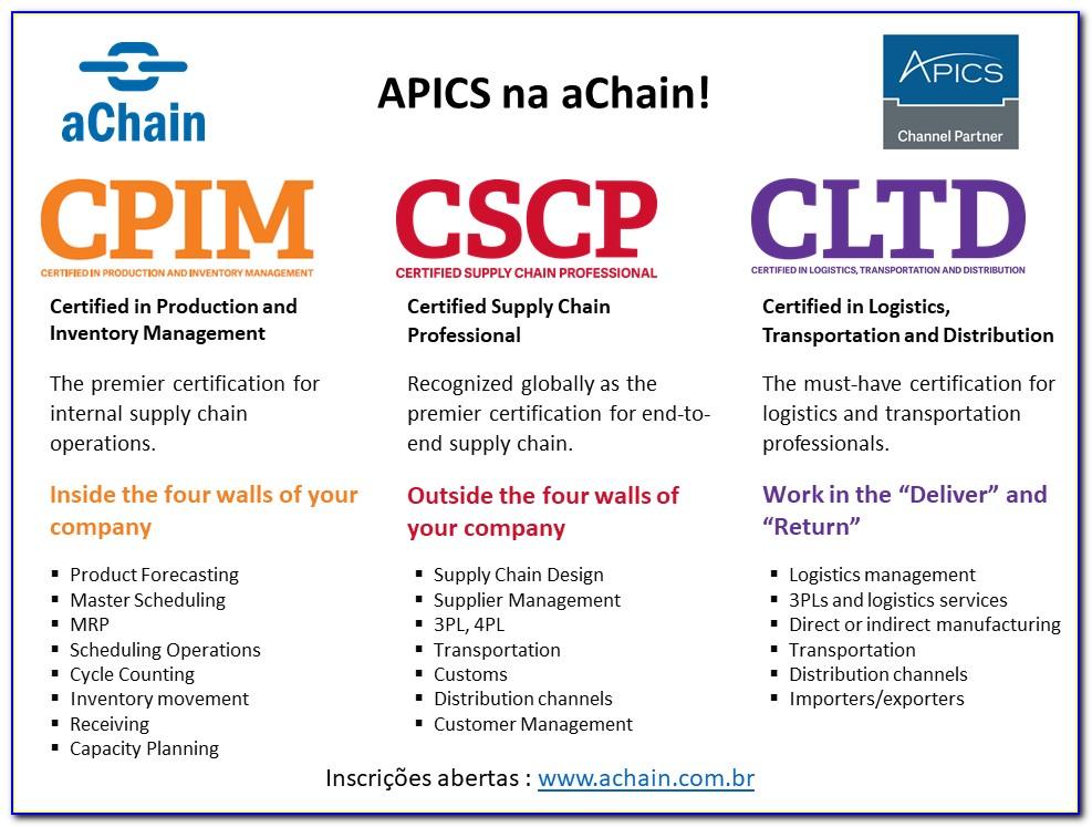 Apics Cpim Certification Worth It