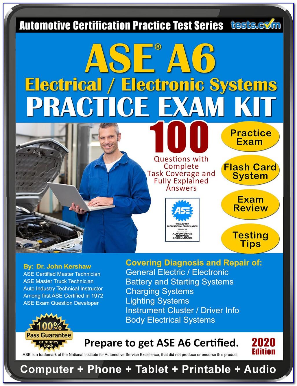 Ase Ac Certification Test Online