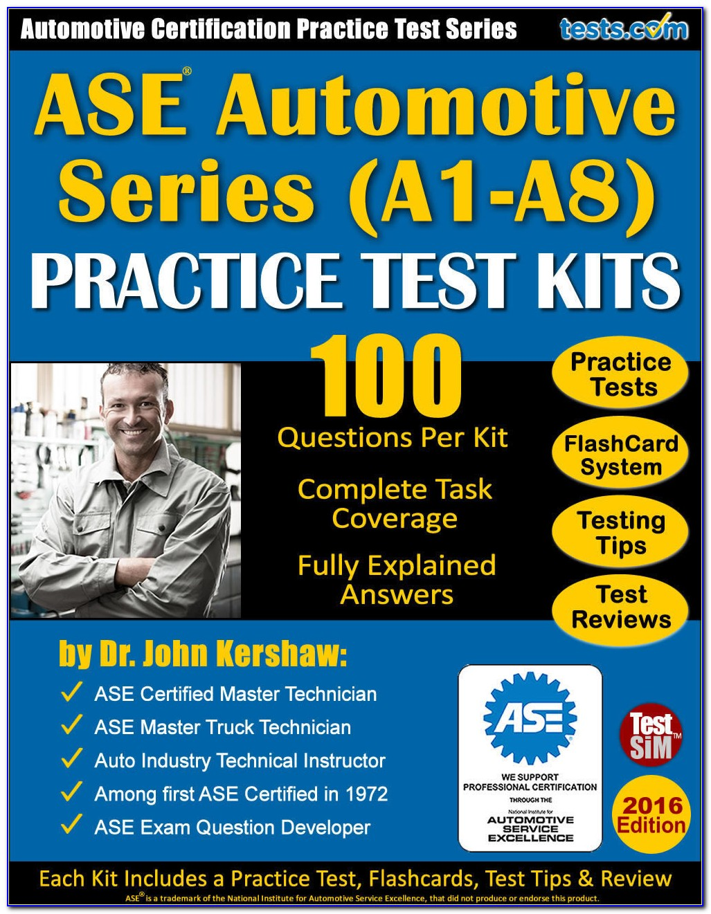 Ase Certification Practice Test Free T8