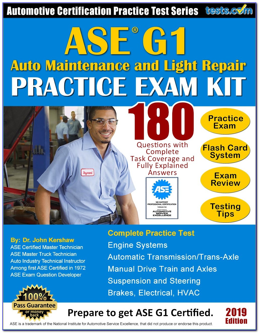 Ase Certification Study Guides Free Download