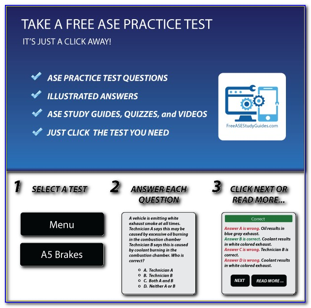 Ase Test Study Guides Free